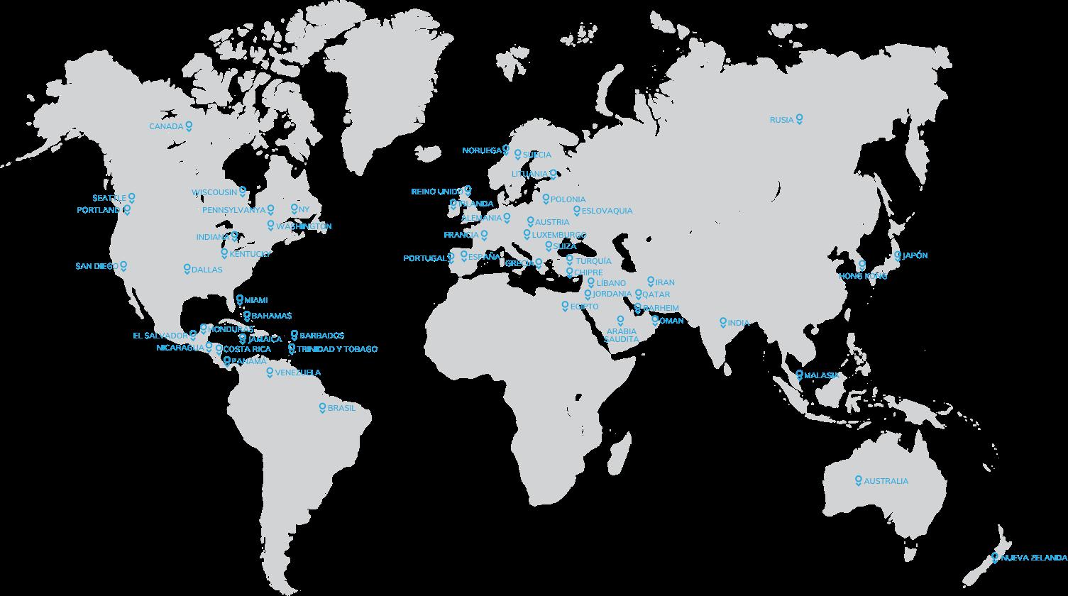 Mapa Paxman